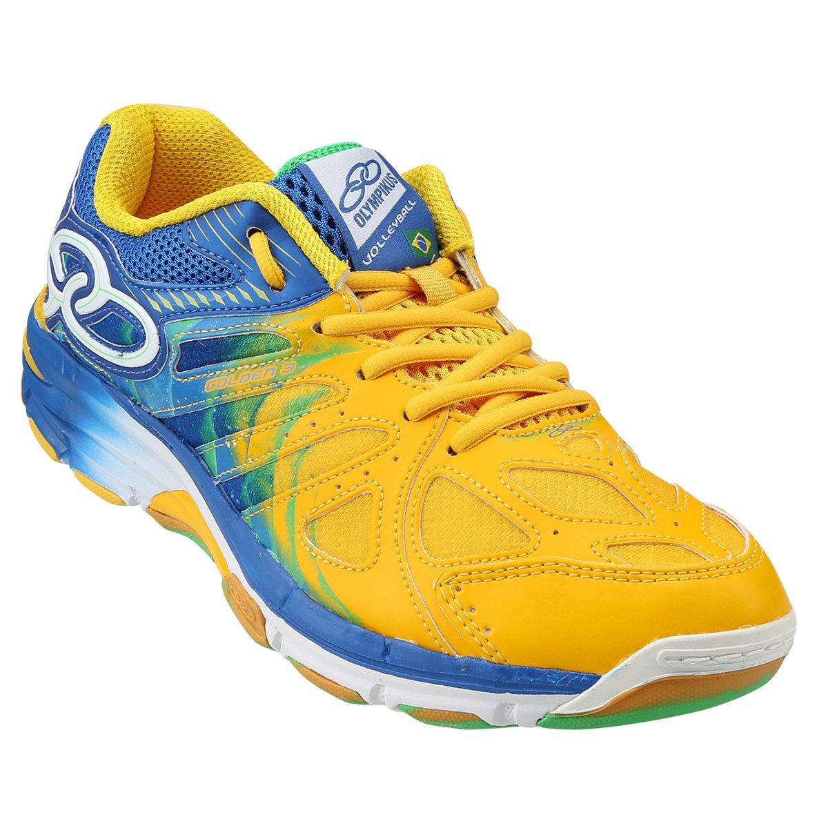 LP Tênis Amarelo e 3 Golden Tênis Olympikus Azul Golden Olympikus xYawHFfq