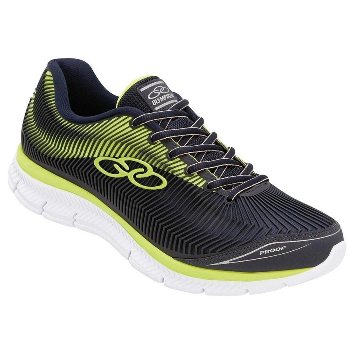 7f838c2e0b1 Tênis Olympikus Proof Masculino - Marinho e Verde Limão - Compre Agora