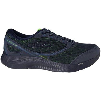 Tênis Olympikus Runner Flow Masculino Marinho/Verde 39