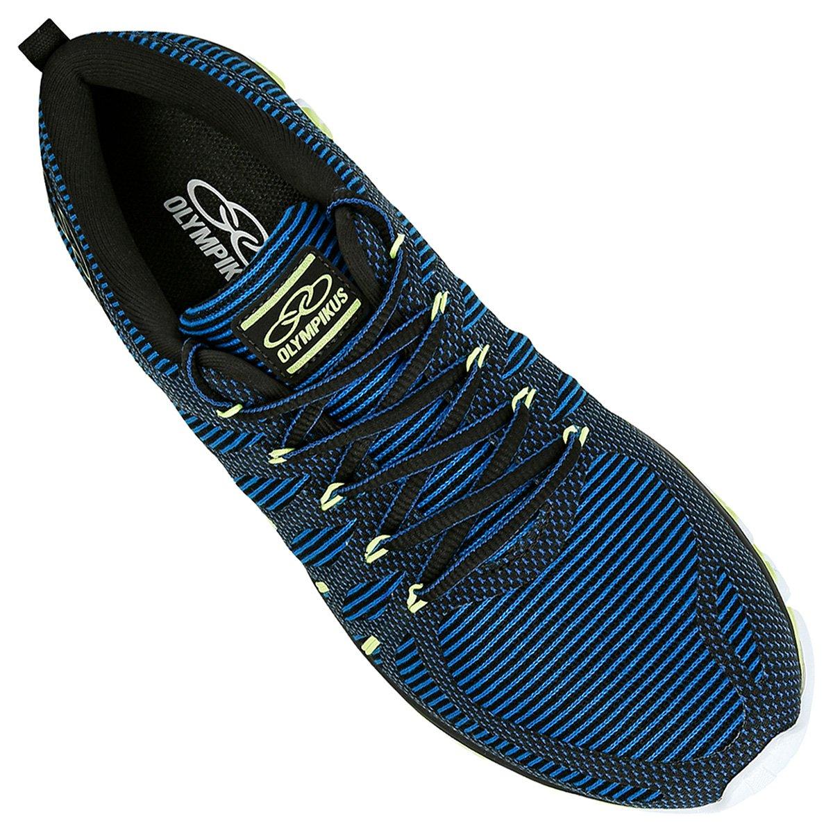 Royal Tênis Olympikus Style Verde Limão Masculino Olympikus e Azul Tênis OwrqSYO