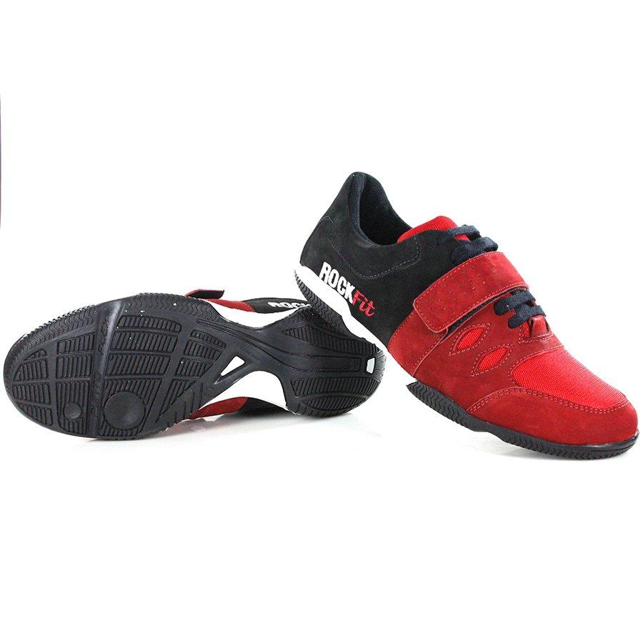 Tenis Para Crossfit Preto E Vermelho - Rock Fit - Preto e Vermelho ... 4bca18b5f36c1