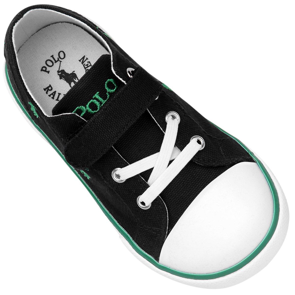 Tênis Polo Ralph Lauren Bal Harbour Captoe Ez Infantil - Compre ... 0205a1e7c55