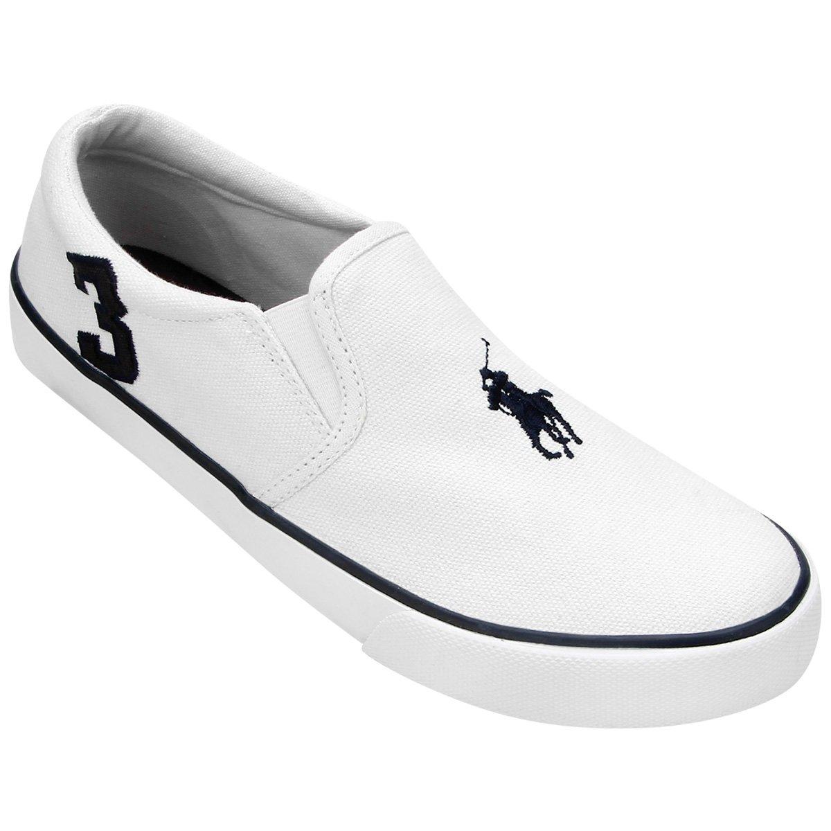 9fe1a1427572e Tênis Polo Ralph Lauren Seth Slip On Infantil - Compre Agora