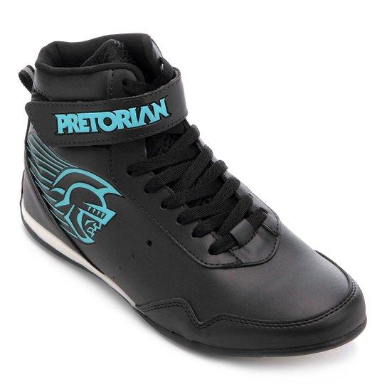 Tênis Pretorian KO Feminino - Preto+Azul claro