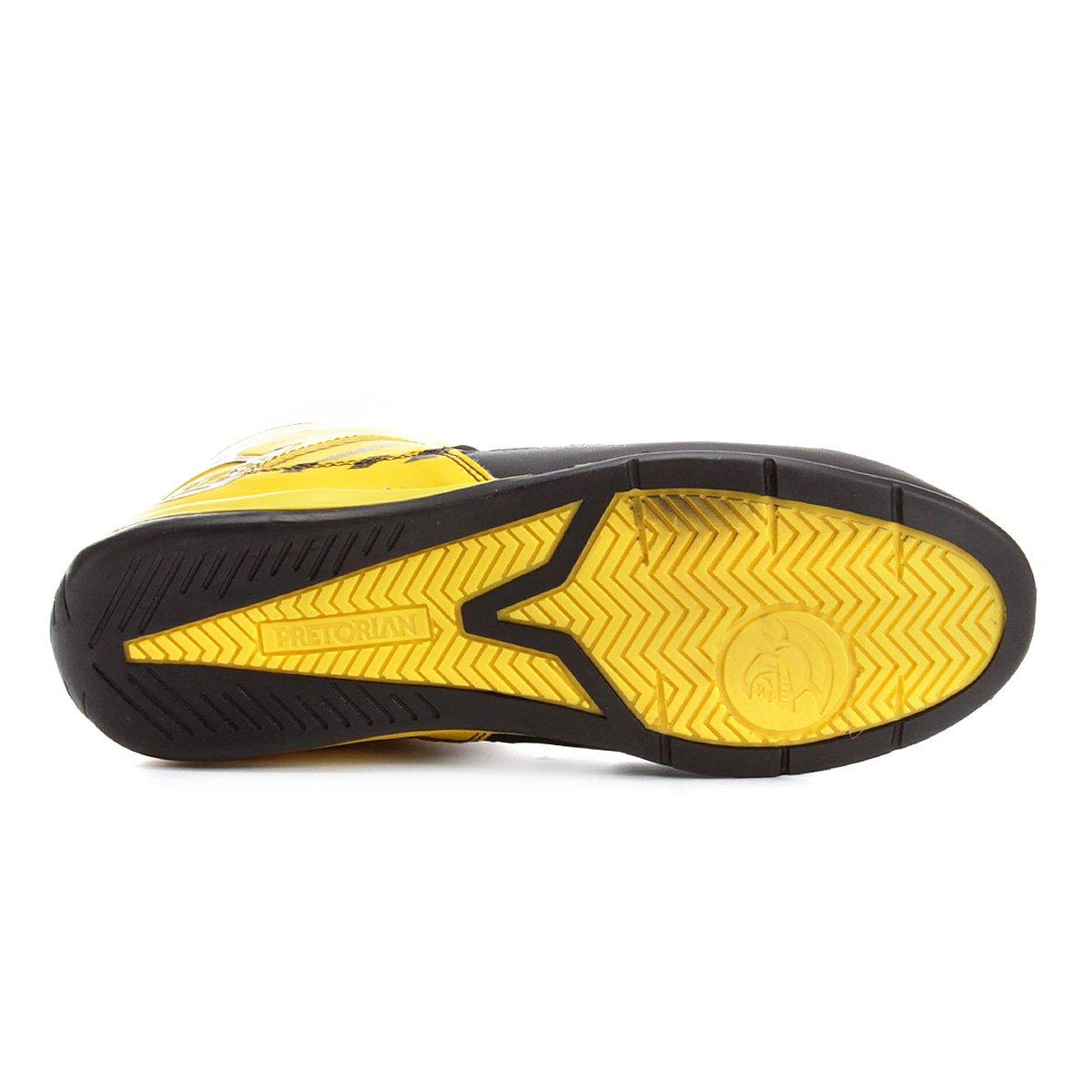 Amarelo Tênis Striker Masculino Striker Tênis Preto Pretorian Pretorian e w8qOEP