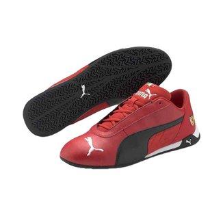 Tênis Puma Ferrari Rcat Masculino - Vermelho e Preto