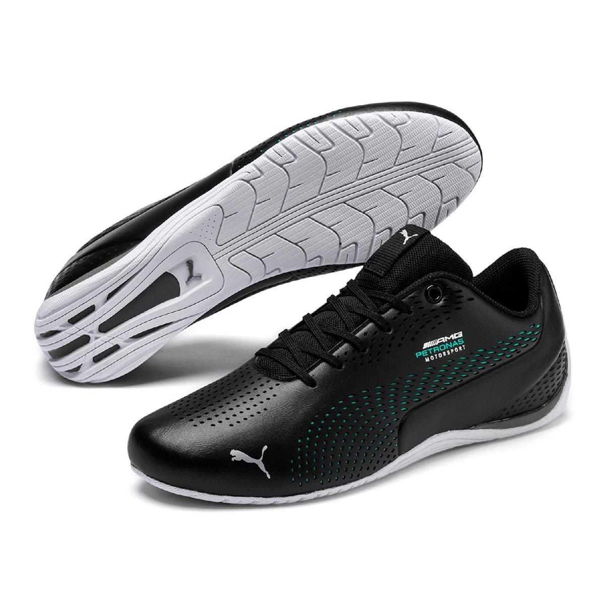 gran inventario mejores zapatillas de deporte realmente cómodo Tênis Puma Mercedes Drift Cat 5 Ultra II - Preto e verde