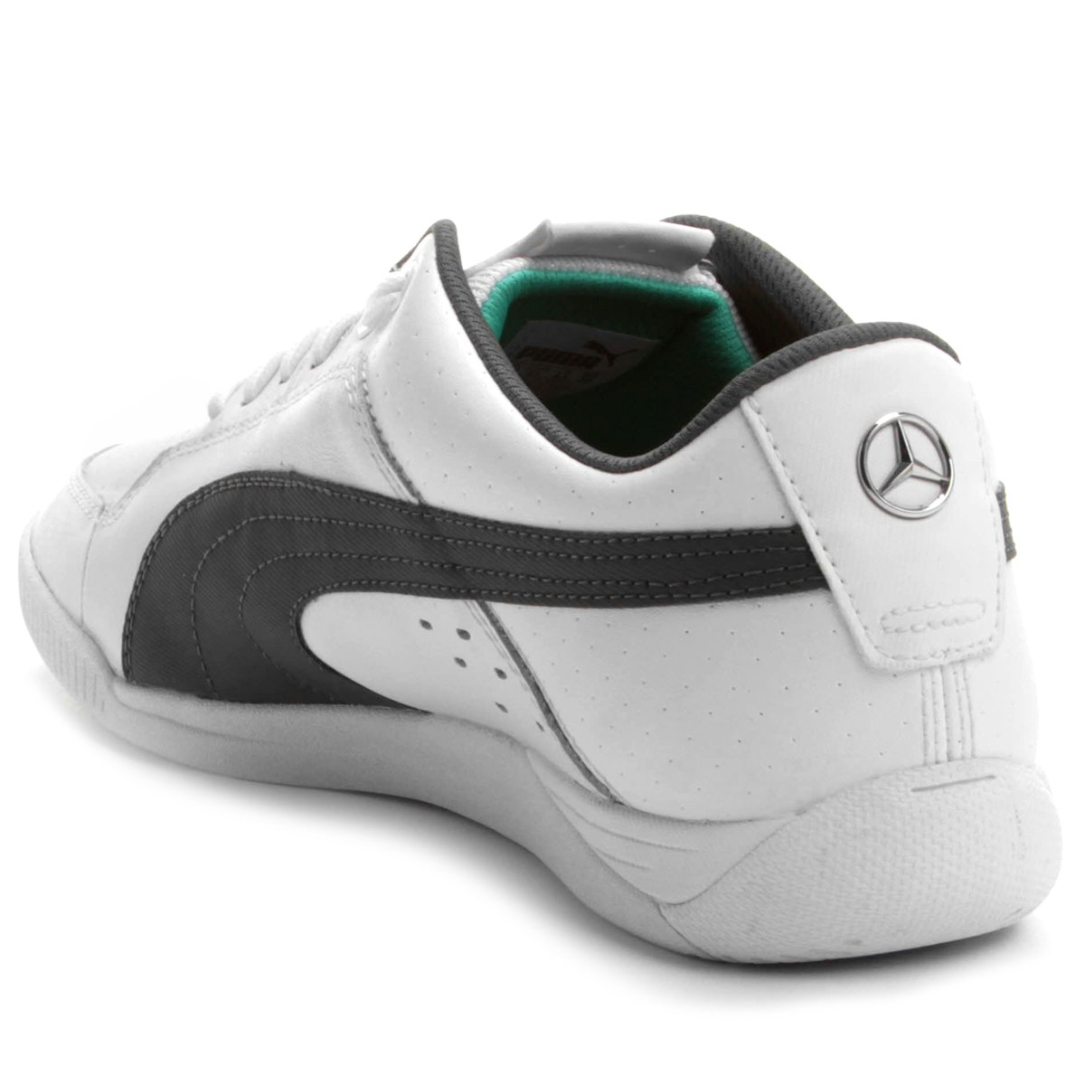 7a9a2beff6 ... amg gp future cat s2 preto. Carregando zoom  hot product b3106 33c7a  ... Tênis Puma Mercedes Silver Lo Leather .. ...