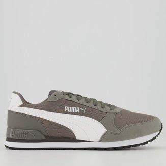 Tênis Puma ST Runner V2 Mesh BDP Cinza
