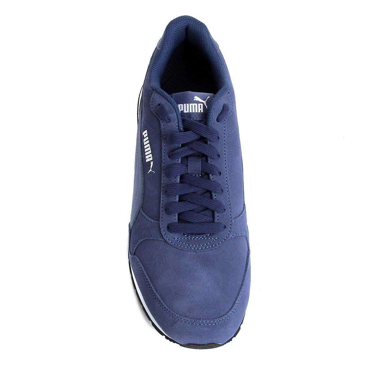 Tênis Puma St Runner V2 SD - Azul - Compre Agora  38ea016823e72