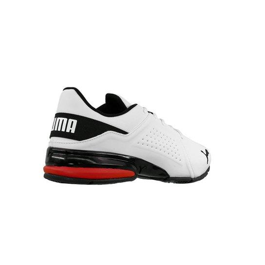 Tenis Puma Viz Runner Bdp - Branco+Vermelho