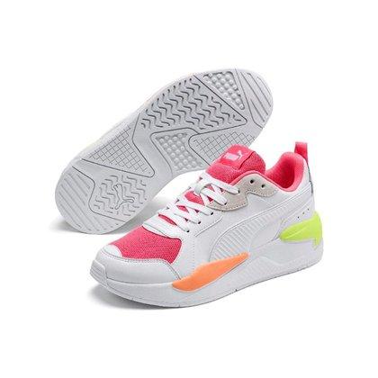Tenis Puma X Ray Game Bdp Branco+rosa Feminino