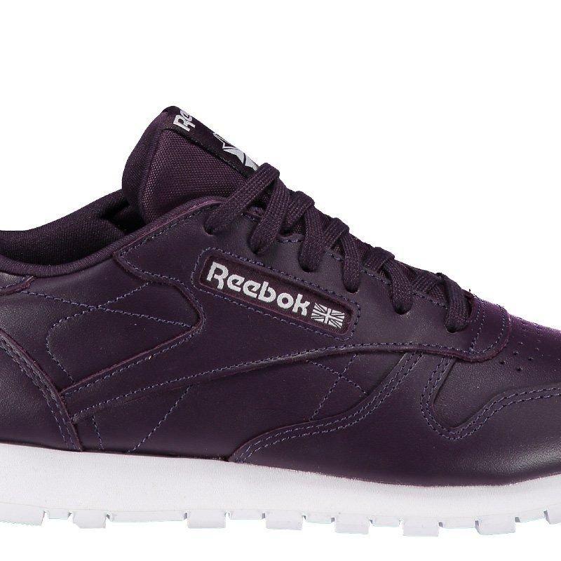 Tênis Reebok Classic Leather Seasonal 2 Feminino - Roxo - Compre ... 892dc5304f001