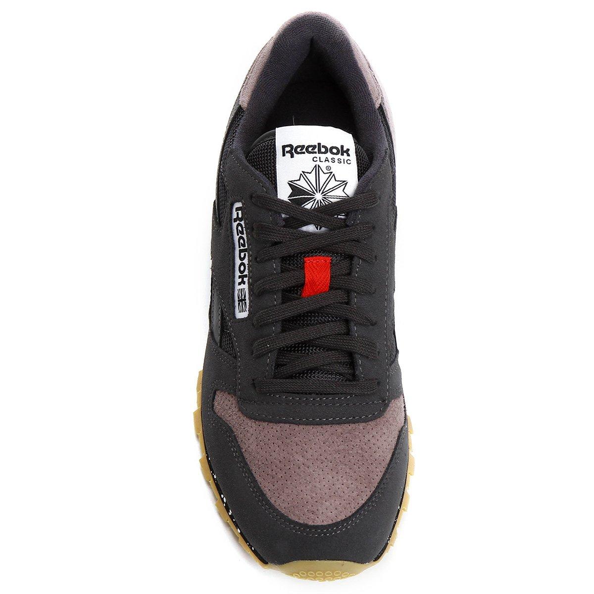 Tênis Reebok Classic Leather Sm - Compre Agora  d7e0b07db99aa