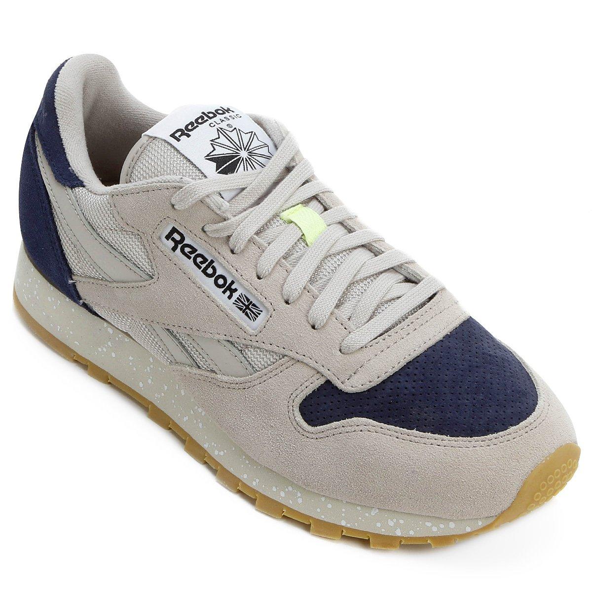 67c079b2a79 Tênis Reebok Classic Leather Sm - Compre Agora