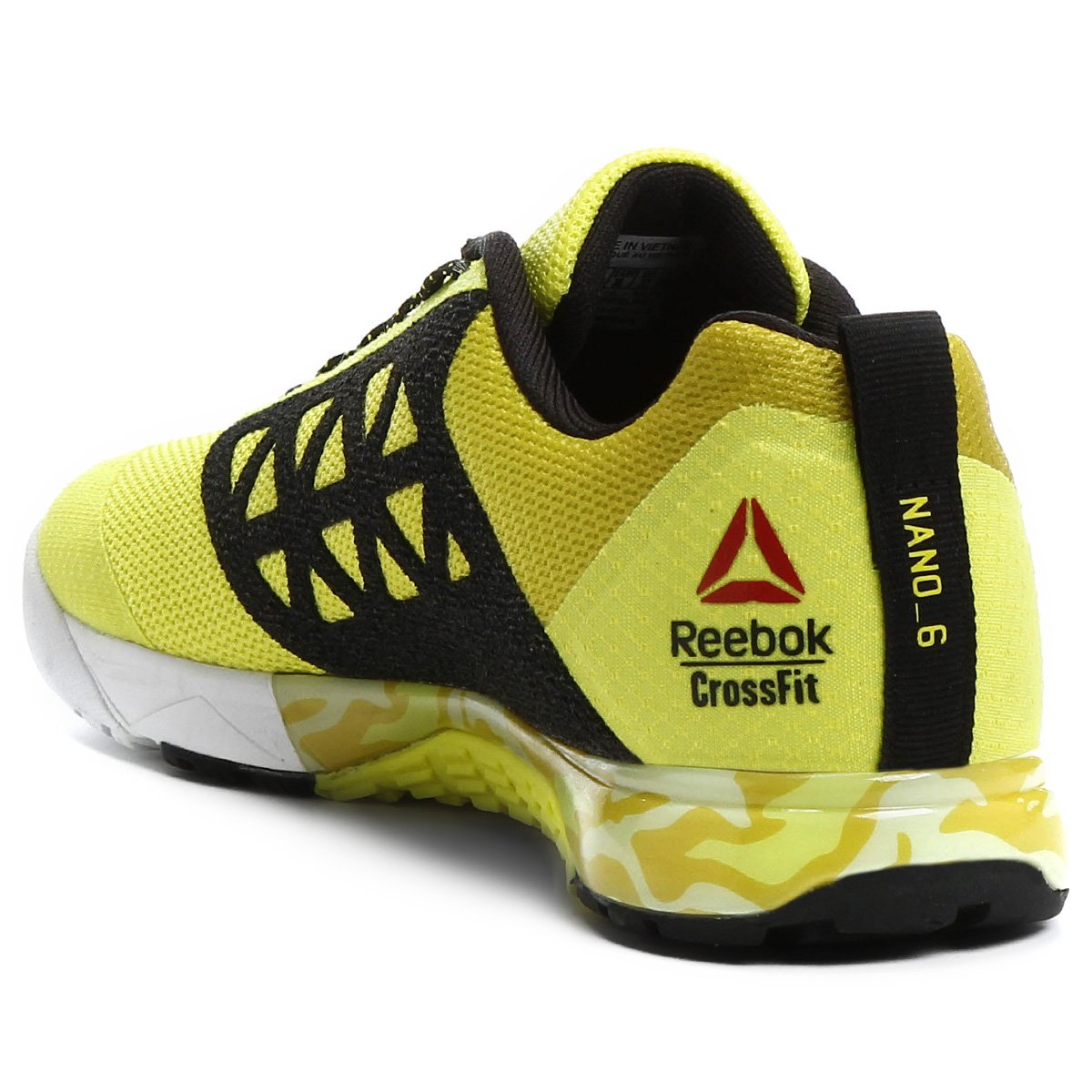Tênis Reebok Crossfit Nano 6.0 Feminino - Amarelo - Compre Agora ... 5e75815f8e730