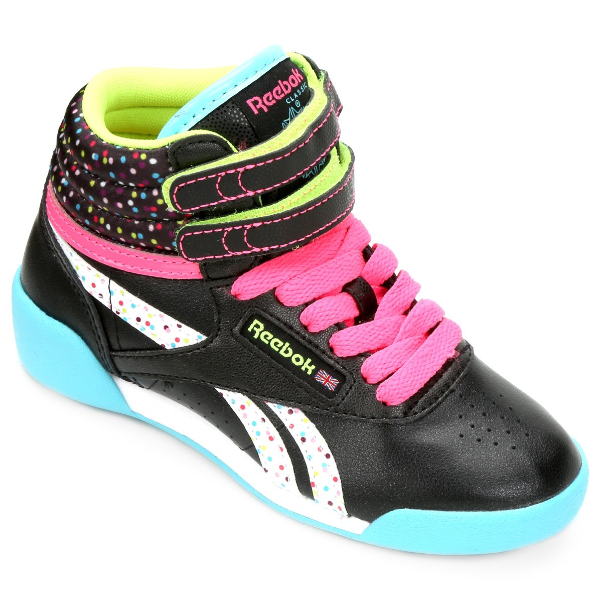 fb9ea95efaf Tênis Reebok Freestyle Hi Bday K Infantil - Compre Agora