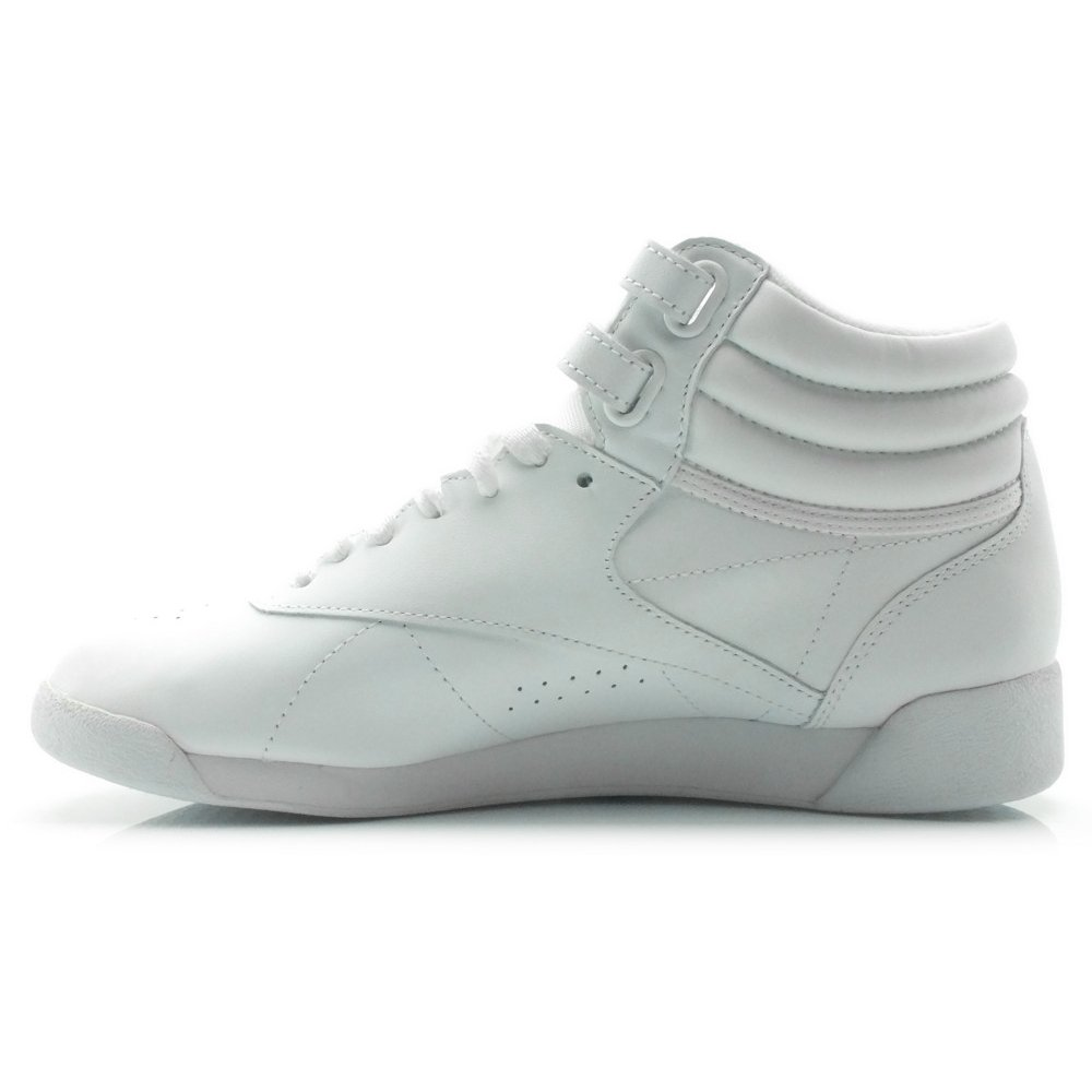 497603132c Tênis Reebok Freestyle Hi Branco 2431 - Branco - Compre Agora