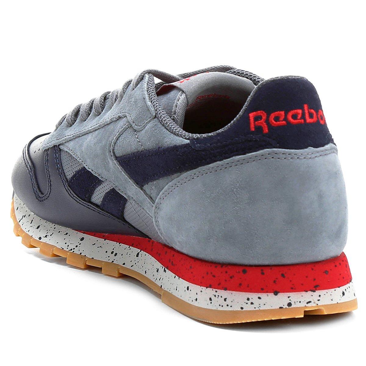 Tênis Reebok M Cl Leather Sm - Compre Agora  e94ad40803474