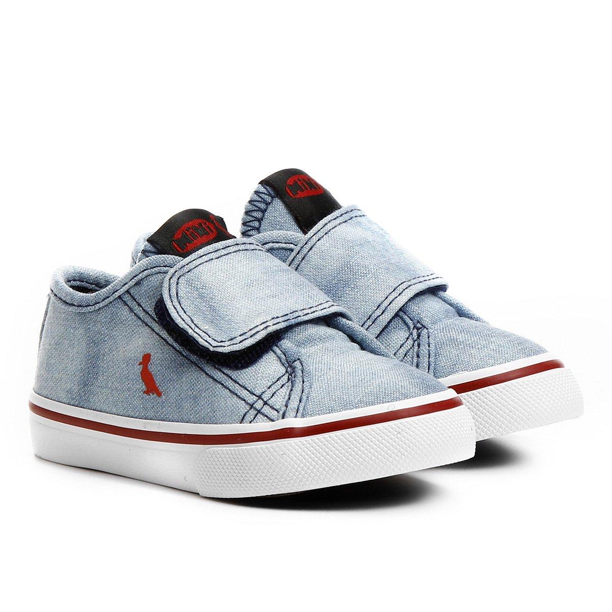 Tênis Reserva Mini Baby Infantil - Jeans Claro - Compre Agora  075875c114651