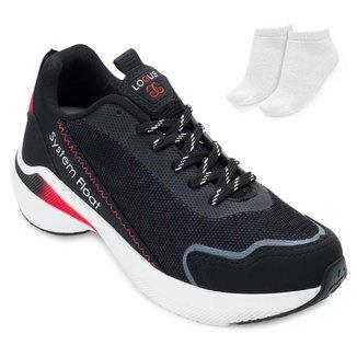 Tênis Running Logus e Meia LG21-2106P