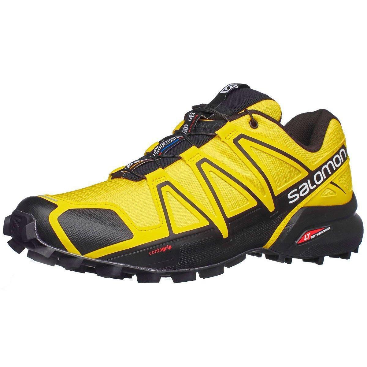 Amarelo Masculino e Speedcross Tênis Preto Tênis Salomon Salomon wOCqxTXP