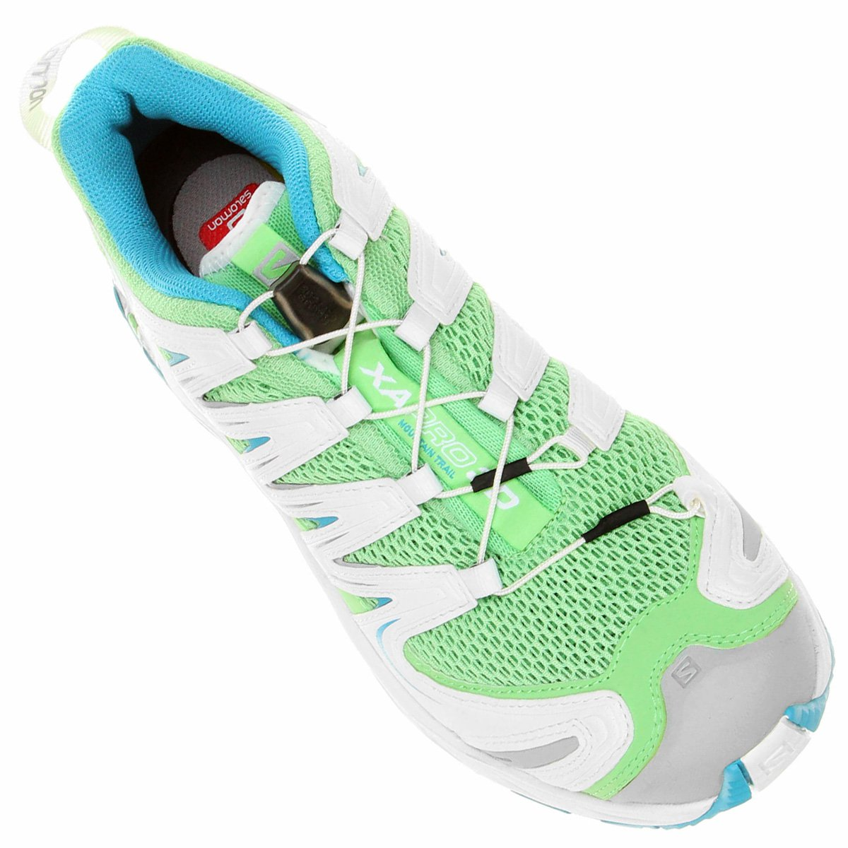 Claro Pro Tênis Salomon Salomon Tênis Branco XA Verde 3D e IxwBgxF0