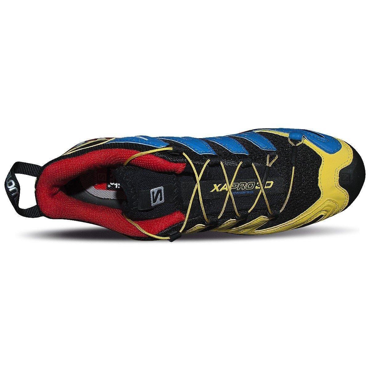 Preto Salomon Pro 3D Amarelo e Preto XA XA Tênis Pro 3D Amarelo Salomon Tênis e pUw4SCqU