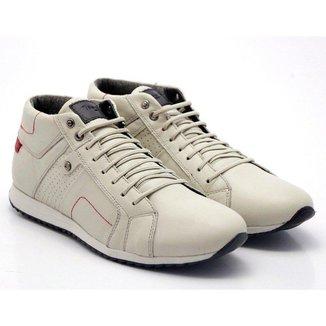 Tenis Sapatenis Conforto Anatomico Top Franca Shoes Cano Alto Gelo