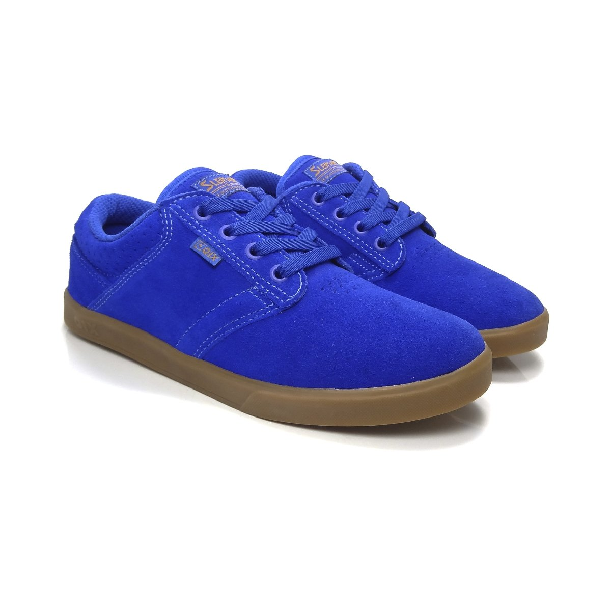 4de8f94eb9 Escuro Royal Tênis Qix Skate Sleiman Azul Tênis Skate Azul YOpZ88 ...