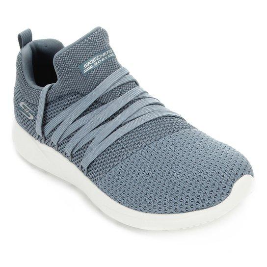 Tênis Skechers Bobs Sparrow Sneaker Club Feminino - Azul+Branco