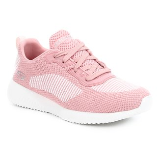 Tênis Skechers Bobs Squad Turn Up Feminino