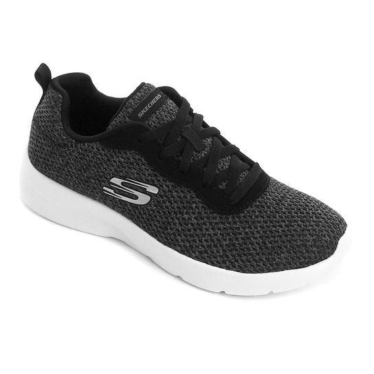 Tênis Skechers Dynamight 2.0-Quick Concept Feminino - Preto+Branco