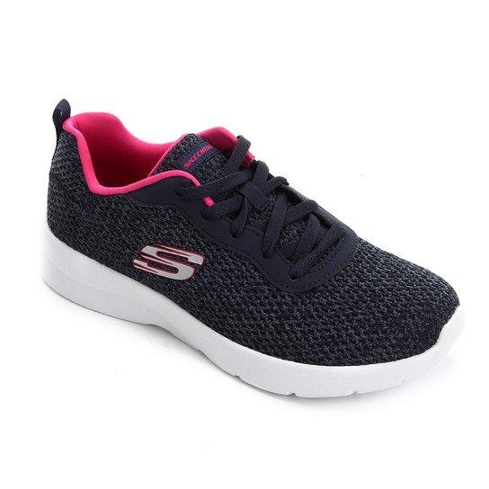 Tênis Skechers Dynamight 2.0-Quick Concept Feminino - Marinho+Pink
