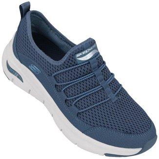Tênis Skechers Feminino Arch Fit Lucky Thoughts