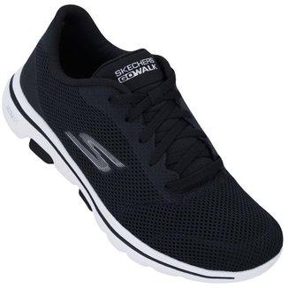 Tênis Skechers Feminino Go Walk 5 Lucky
