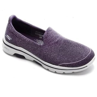 Tênis Skechers Feminino Go Walk 5 - Super Sock