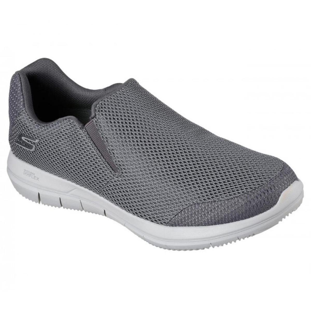 best online hot new products genuine shoes Tênis Skechers Go Flex 2 Completion Masculino - Cinza