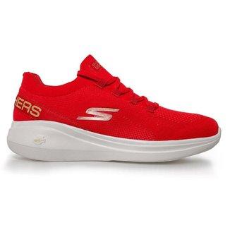 Tênis Skechers Go Run Fast-Sunset Beauty Red 36