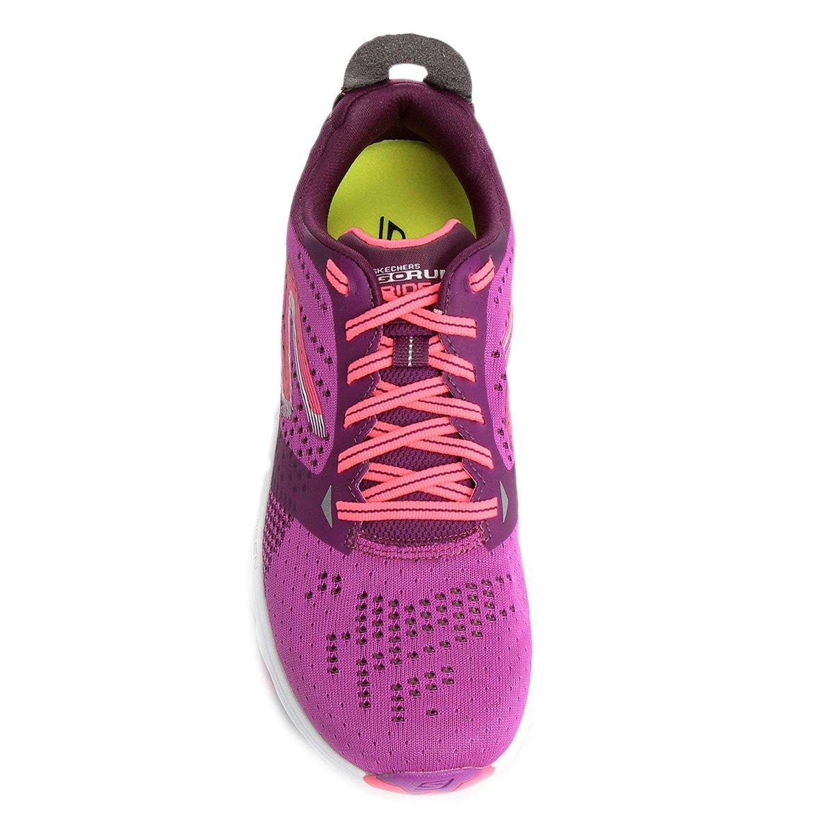 e Feminino Tênis Run Rosa Ride 6 Roxo Go Skechers qqXp0