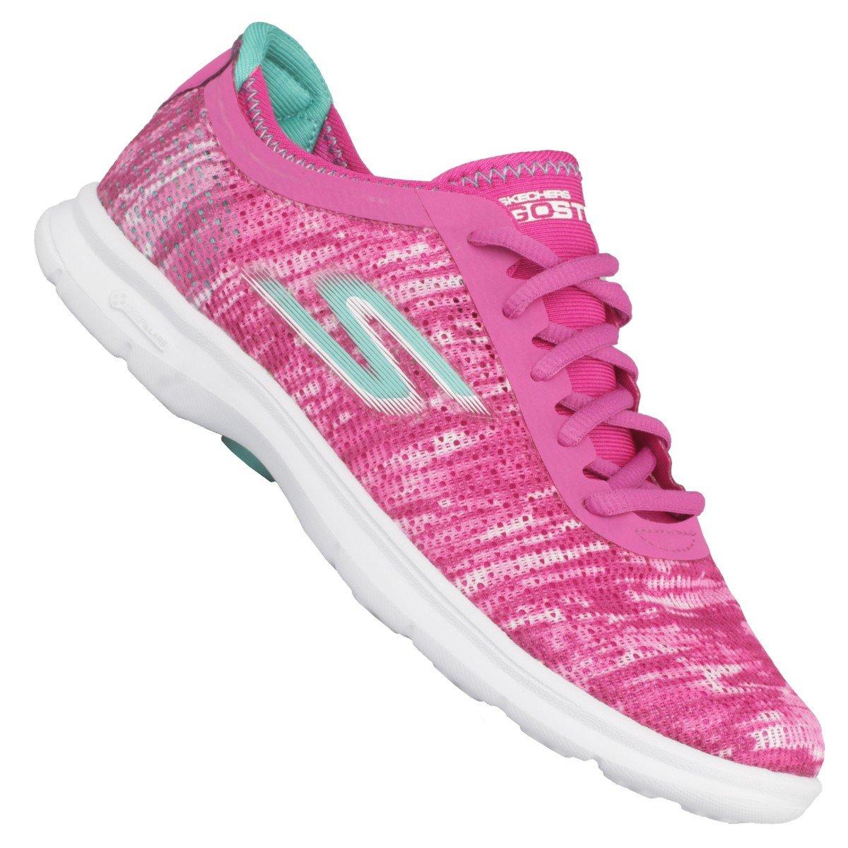 Pink Skechers Skechers Go Step Tênis Step Go Pink Tênis CwaCzq8