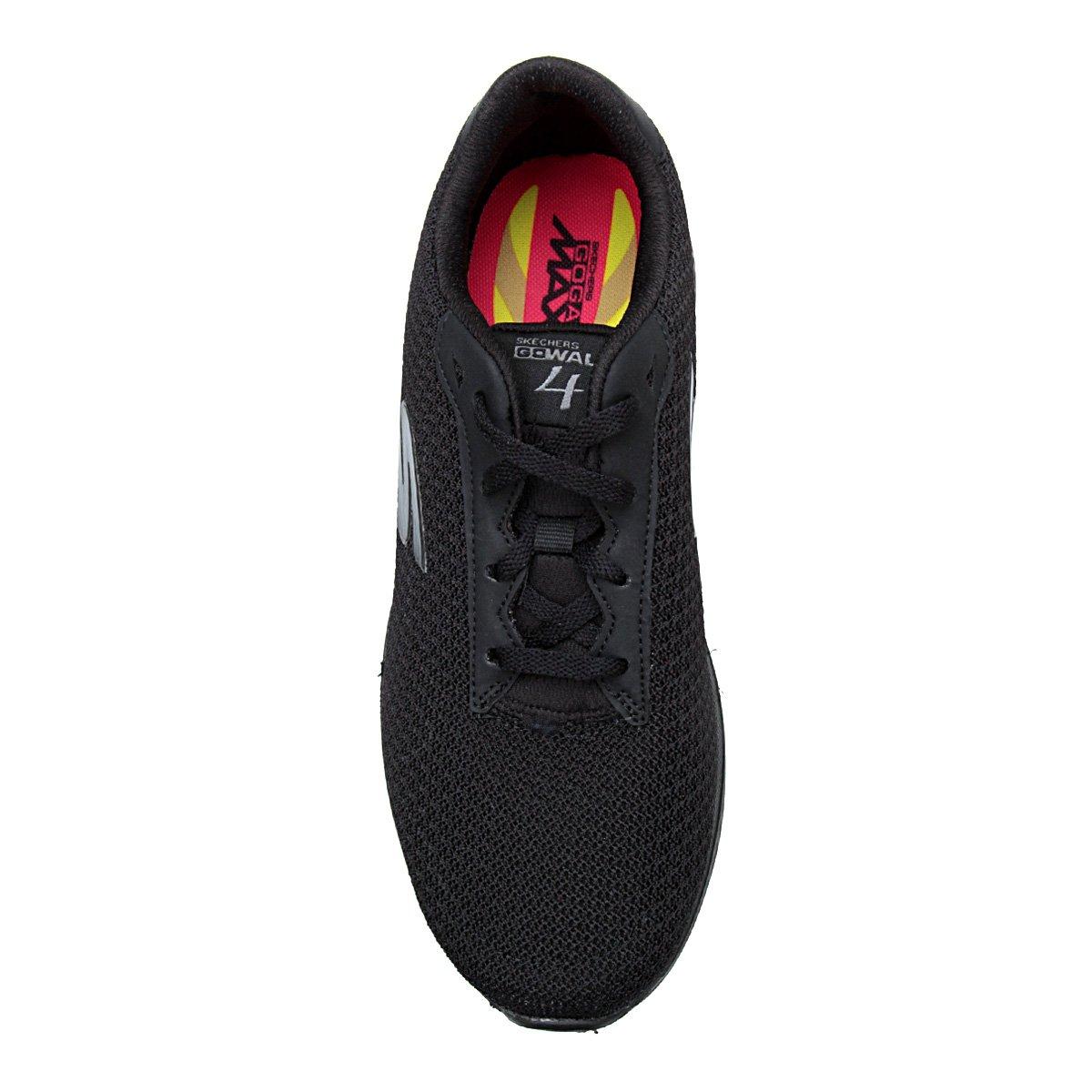 Tênis Skechers Go Walk 4-Glorify Feminino - Preto - Compre Agora ... 110446695767c