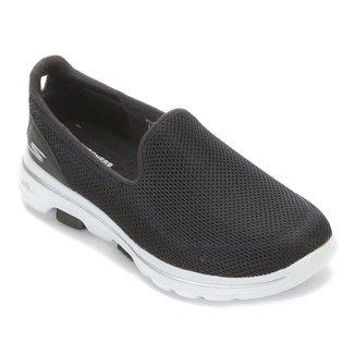 Tênis Skechers Go Walk 5 Feminino Preto+Branco 40