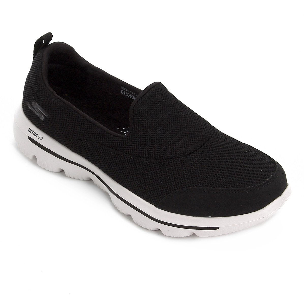 8c4a1a6f5 Tênis Skechers Go Walk Evolution Ultra-Reach Feminino - Preto e Branco