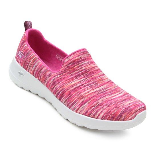 Tênis Skechers Go Walk Joy Terrific Feminino - Rosa