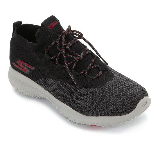 Tênis Skechers Go Walk Revolution Ultra-Turb Feminino - Preto+Pink