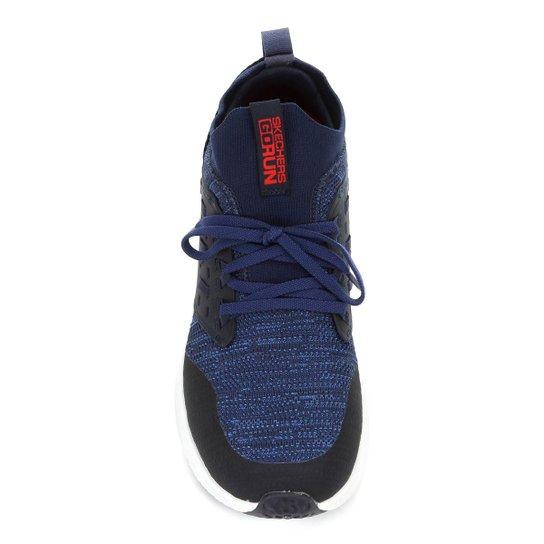 Tênis Skechers Horizon Masculino - Azul Royal+Vermelho