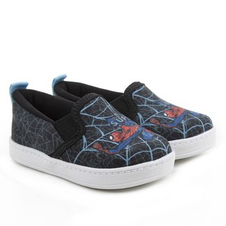 Tênis Slip On Infantil Marvel Spider-Man Masculino