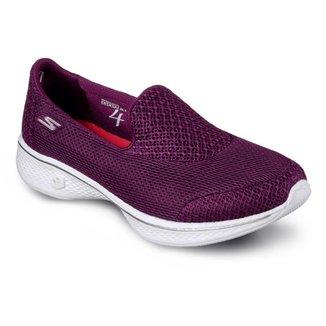 Tênis Slip On Skechers Feminino Go Walk 4