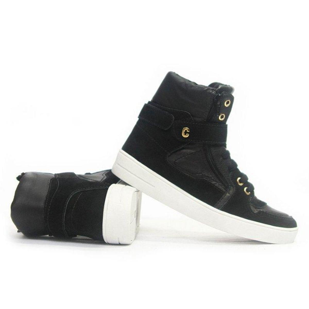 Confort Tênis Napa Tênis Nobuck Sneaker Sneaker Preto x0qOBw